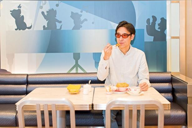 まずはセンターストリート・コーヒーハウスで優雅な朝食