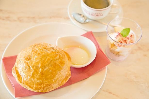 ソーセージ&ポテトのココットパイ(1280円 ~10:00)※朝食は予約対象外