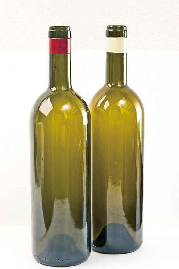 適当なワインボトル(空き瓶)を用意