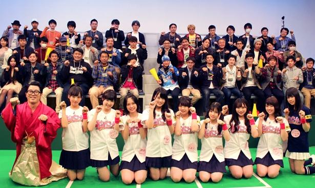 2018年最初の放送はチーム8関東エリアメンバー全員が出演
