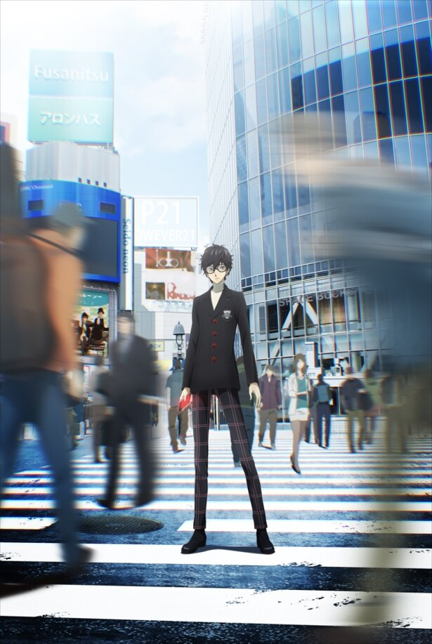 放送時期は2018年4月!TVアニメ「ペルソナ5」の第1弾キービジュアル&最新PVが公開!