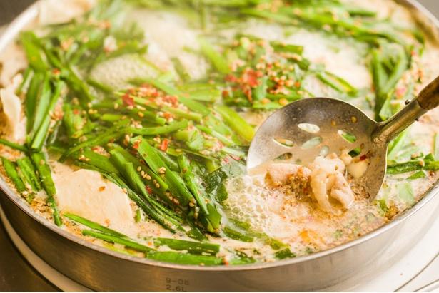 「みそ味」は、白味噌など4種類をブレンドした特製スープを使う
