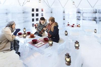 ひと休みするのにぴったりな「氷のスイーツカフェ」