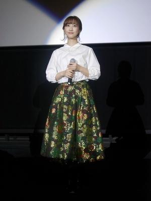 舞台挨拶を行う松井玲奈/名古屋行き最列車2018