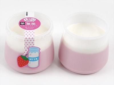 「無限いちごミルクプリン」は348円から328円に