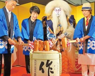 奥深い味の日本酒を堪能