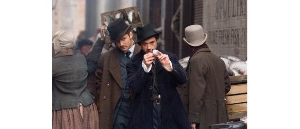 ロバート・ダウニー・Jr扮するシャーロック・ホームズとジュード・ロウ扮するワトソンのコンビが最高!
