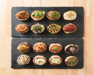 「韓国風つくね」(220円)、「パクチーつくね」(220円)、「炙りチーズマヨつくね」(220円)など全25種類