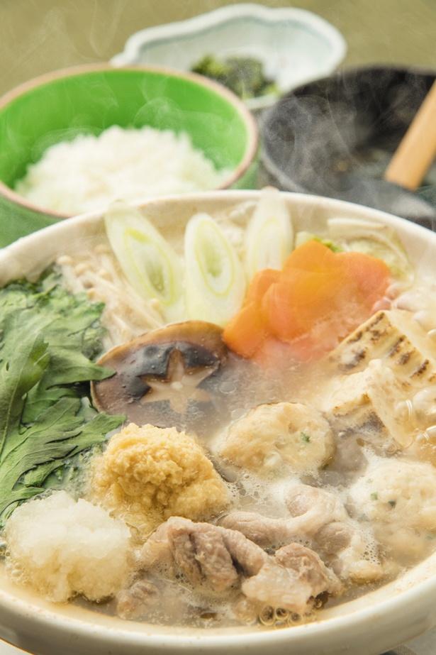 【広川SA下】「みぞれ生姜鍋」(1280円)