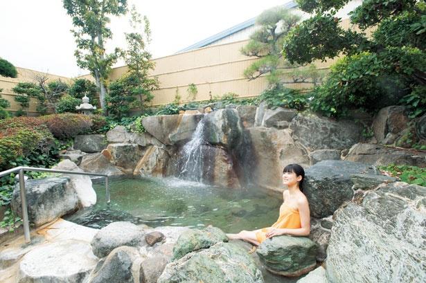 「露天岩風呂」/天然大和温泉 奈良健康ランド