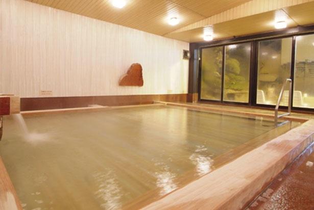 「ひのき風呂」/天然大和温泉 奈良健康ランド