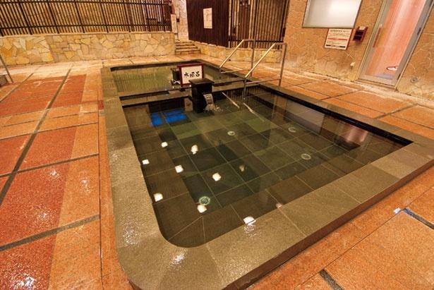 「ナノ水風呂」/天然大和温泉 奈良健康ランド