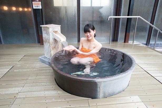 「壺湯」/天然大和温泉 奈良健康ランド