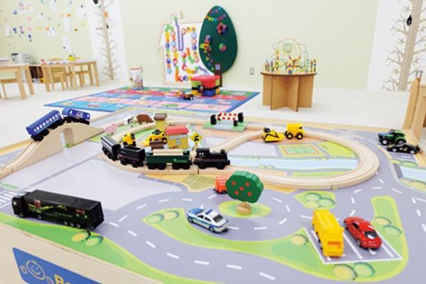 2017年4月に新設された「すこやかハウス」は8歳までが対象/天然大和温泉 奈良健康ランド