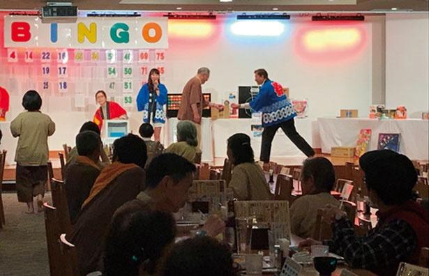 ビンゴ大会やパフォーマンスショーなども開催/天然大和温泉 奈良健康ランド