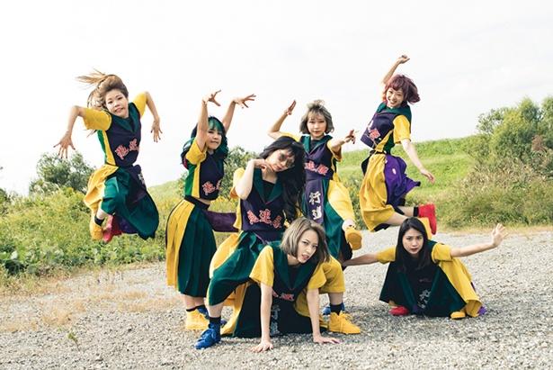GANG PARADE●2014年に結成。2018年2/20(火)にニューシングル「BREAKING THE ROAD」をリリースする