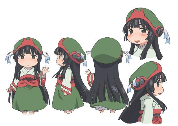 身長9cmの女の子たちに会いに行こう!TVアニメ「ハクメイとミコチ」の最新情報が到着!