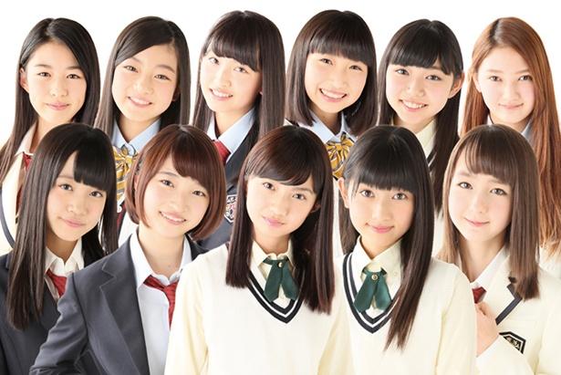 原宿駅前パーティーズNEXT●2015年ライジングプロダクションで結成された研修生ユニット