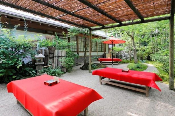美しい日本庭園を眺めながら至福のひとときを