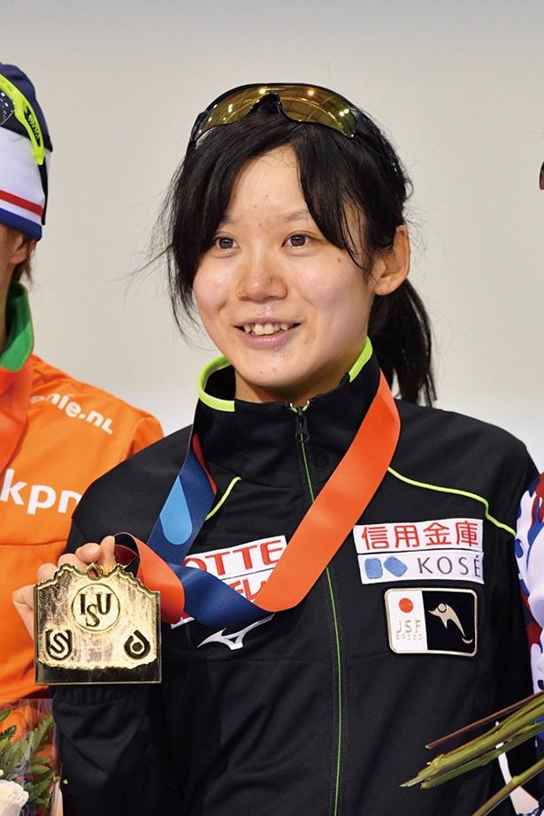 高木美帆(たかぎみほ)=スピードスケート●1994年5月22日生まれ、北海道出身。2017年世界距離別団体パシュート優勝、2017年W杯団体追い抜き優勝