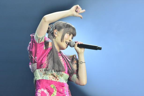 「COUNTDOWN JAPAN 17/18」きゃりーぱみゅぱみゅのステージ