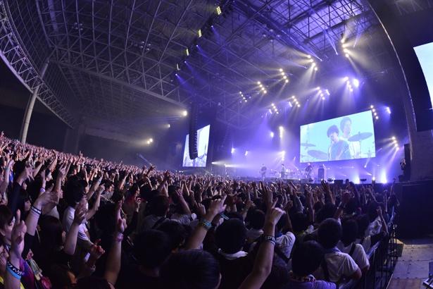 「COUNTDOWN JAPAN 17/18」ASIAN KUNG-FU GENERATIONのステージ