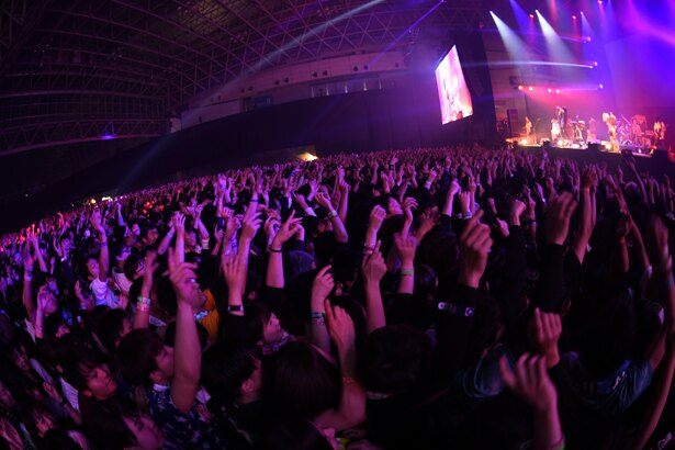 「COUNTDOWN JAPAN 17/18」Fear, and Loathing in Las Vegasのステージ