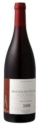 「ボジョレー・ヴィラージュ・ヌーヴォー・ヴィエイユ・ヴィーニュ」(3360円)樹齢60年のブドウから作られ、フレッシュかつコクのある味わいが特徴