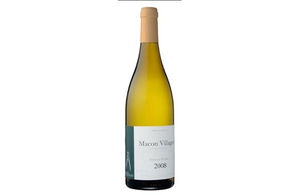 「マコン・ヴィラージュ・ヌーヴォー ・ヴィエイユ・ヴィーニュ」(3675円)シャルドネの新酒。辛口で 爽やかなタイプ。