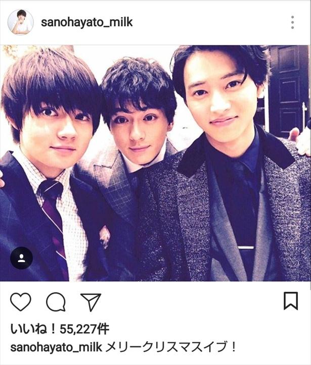 「トドメの接吻」で山崎賢人&新田真剣佑との3ショットも披露!