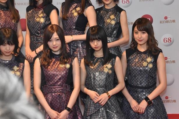 乃木坂46も衣装はオンエアで