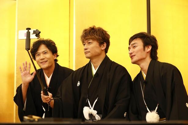 稲垣吾郎、草なぎ剛、香取慎吾が新年早々お年玉のようなお知らせをくれた