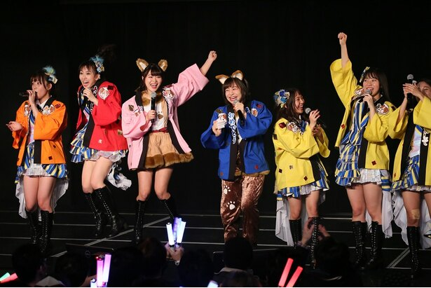 """おみくじが""""大吉""""で喜ぶSKE48メンバーたち"""