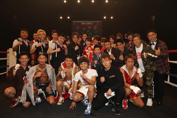 特別番組「AbemaTV新春ボクシング祭り!亀田一家人生を賭けた3大勝負」が1月1日に放送された