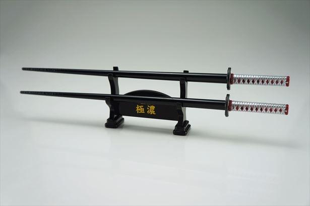 人気日本刀箸が「侍箸」となって登場!