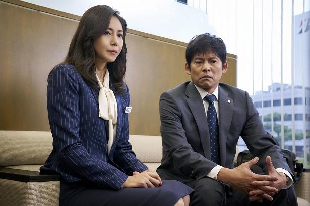 松嶋菜々子とは映画「ホワイトアウト」以来の共演!