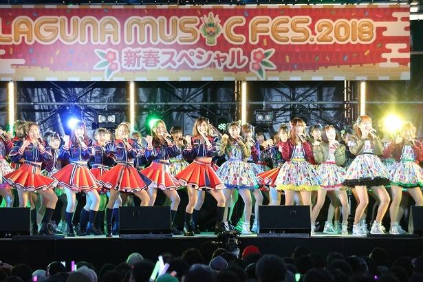 「LAGUNA MUSIC FES.2018 新春スペシャル」にSKE48が登場