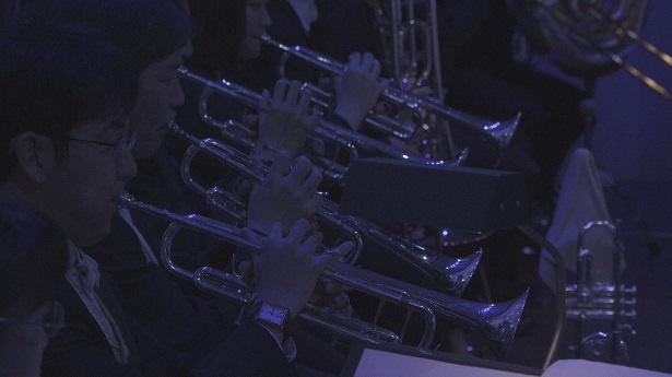 演奏する東京フィルハーモニー交響楽団