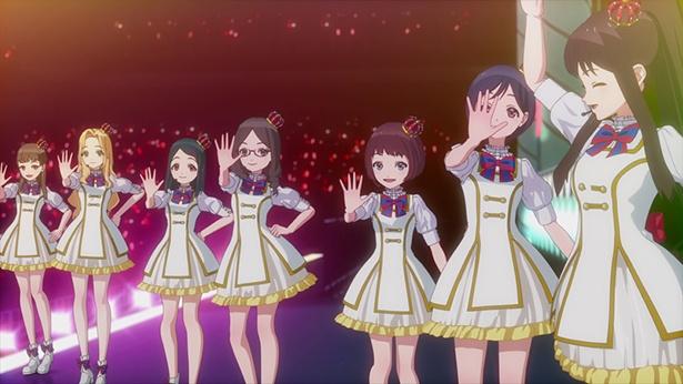 """「Wake Up, Girls! 新章」最終話のカットが到着。""""Wake Up, Idols!""""を合言葉にツアーファイナル!"""