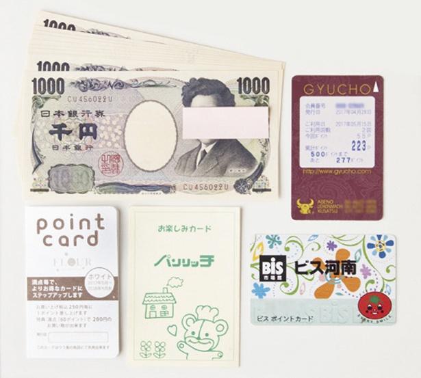 【写真を見る】1日の予算は千円札で管理