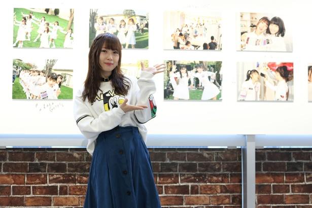SKE48・高柳明音が写真展「ちゅりかめら展IN WONDER PHOTO SHOP」でのトークショーに登場