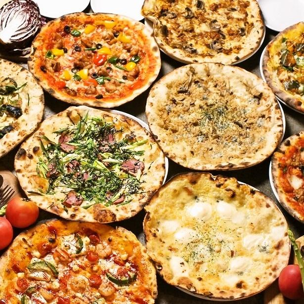 【写真を見る】本格窯焼きピザはCONAのメインコンテンツ!こちらもぜひ一度ご賞味あれ
