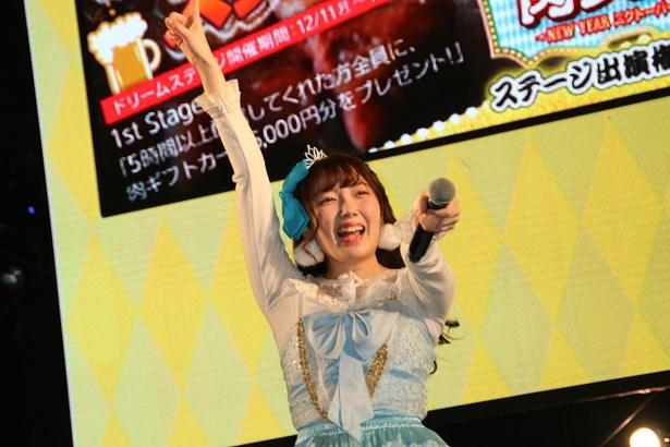 水萌が「千本桜」を披露すると、ファンは一気にヒートアップ!