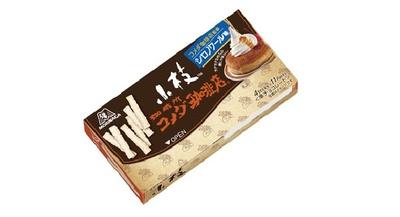 森永製菓×コメダ珈琲店のコラボ商品「小枝<シロノワール味>」(194円)が発売