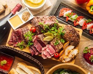 【肉速報】名駅でステーキ食べ放題!6種類の肉を思う存分食べられるぞッ
