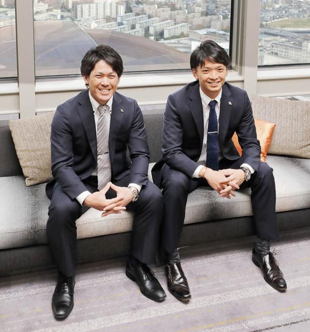 日本一に大貢献した両若手。2018年もホークスを背負って立つ!