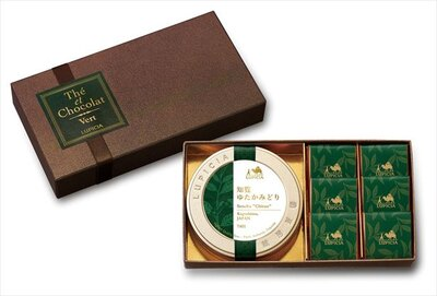 ルピシアの「テ エ ショコラ ヴェール」(1350円)