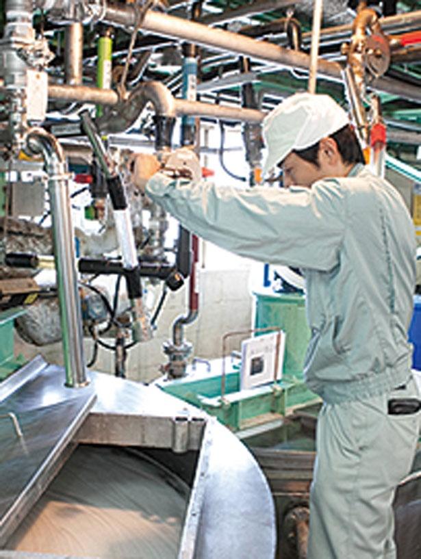 約10種を使用する原料は、調合のバランスが命/ヤシノミ洗剤