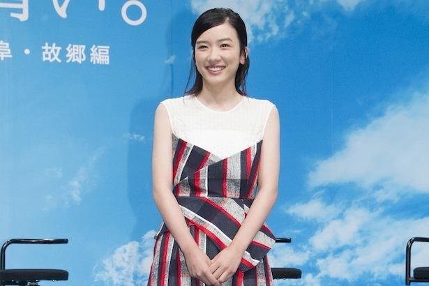 連続テレビ小説「半分、青い。」でヒロインを務める永野芽郁