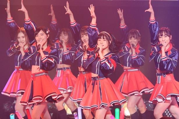 SKE48が22枚目のシングル「無意識の色」リリース記念ライブをZepp Nagoyaで行った